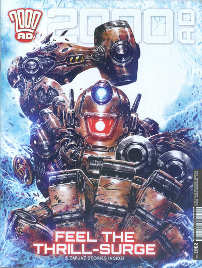 Cover for 2000 AD (Rebellion, 2001 series) #1962