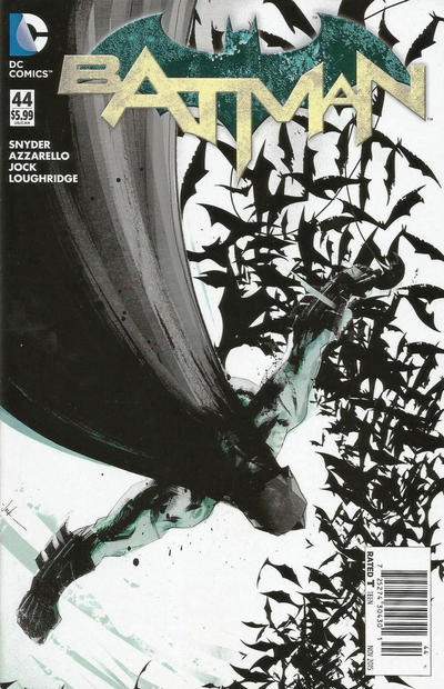 Cover for Batman (DC, 2011 series) #44 [Green Lantern 75th Anniversary Cover]