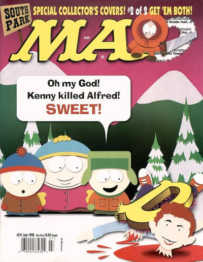 Cover for MAD (EC, 1952 series) #371
