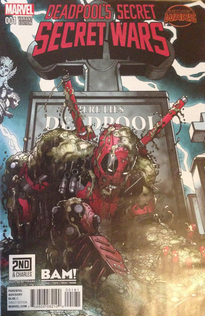 Cover for Deadpool's Secret Secret Wars (Marvel, 2015 series) #1