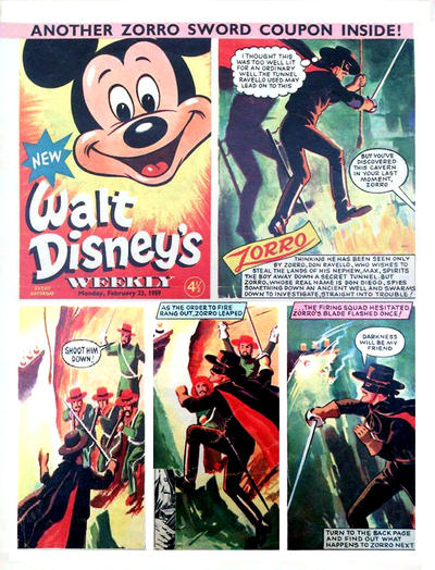 Cover for Walt Disney's Weekly (Disney/Holding, 1959 series) #v1#5