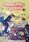 Cover for Hopalong Cassidy (K. G. Murray, 1954 series) #98