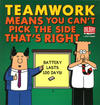 Cover for Dilbert (Andrews McMeel, 1994 ? series) #38 - Teamwork Means You Can't Pick the Side That's Right
