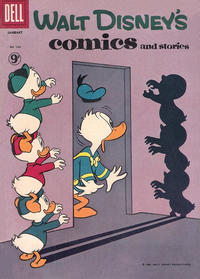 Cover Thumbnail for Walt Disney's Comics and Stories (Dell, 1940 series) #v21#4 (244) [British]