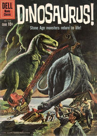 Cover Thumbnail for Four Color (Dell, 1942 series) #1120 - Dinosaurus [British]