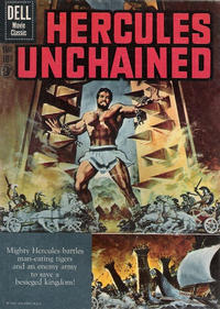 Cover Thumbnail for Four Color (Dell, 1942 series) #1121 - Hercules Unchained [British]