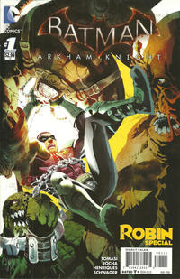 Cover Thumbnail for Batman: Arkham Knight: Robin Special (DC, 2016 series) #1