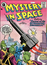Cover for Mystery in Space (Thorpe & Porter, 1958 ? series) #5