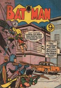 Cover Thumbnail for Batman (K. G. Murray, 1950 series) #64