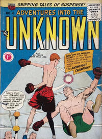 Cover Thumbnail for Adventures into the Unknown (Arnold Book Company, 1950 ? series) #4