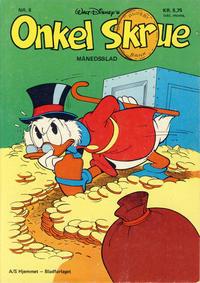 Cover Thumbnail for Onkel Skrue (Hjemmet / Egmont, 1976 series) #8