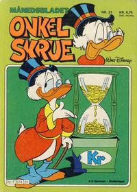 Cover Thumbnail for Onkel Skrue (Hjemmet / Egmont, 1976 series) #21
