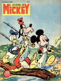 Cover Thumbnail for Le Journal de Mickey (Hachette, 1952 series) #2
