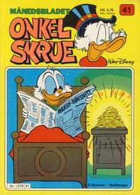 Cover Thumbnail for Onkel Skrue (Hjemmet / Egmont, 1976 series) #41