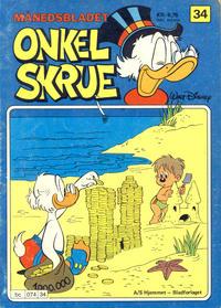 Cover Thumbnail for Onkel Skrue (Hjemmet / Egmont, 1976 series) #34