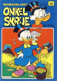 Cover Thumbnail for Onkel Skrue (Hjemmet / Egmont, 1976 series) #26