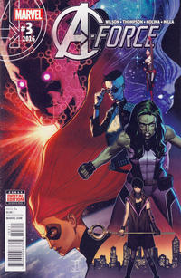 Cover Thumbnail for A-Force (Marvel, 2016 series) #3 [Direct Edition]