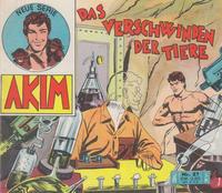 Cover Thumbnail for Akim (Bozzesi Verlag, 1960 series) #27