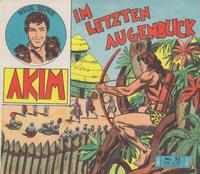 Cover Thumbnail for Akim (Bozzesi Verlag, 1960 series) #33