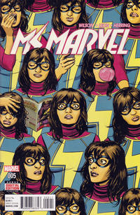Cover Thumbnail for Ms. Marvel (Marvel, 2016 series) #5