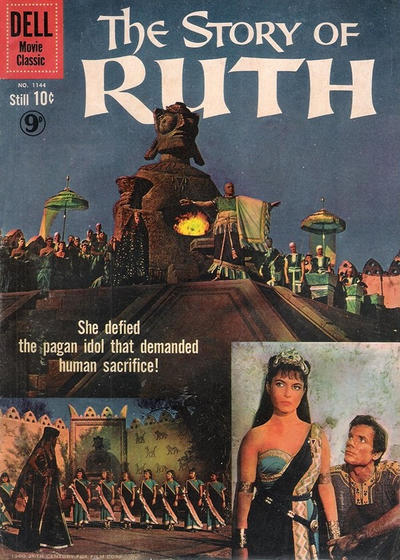 Cover for Four Color (Dell, 1942 series) #1144 - The Story of Ruth [British]
