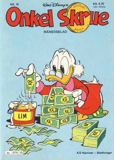 Cover for Onkel Skrue (Hjemmet / Egmont, 1976 series) #15