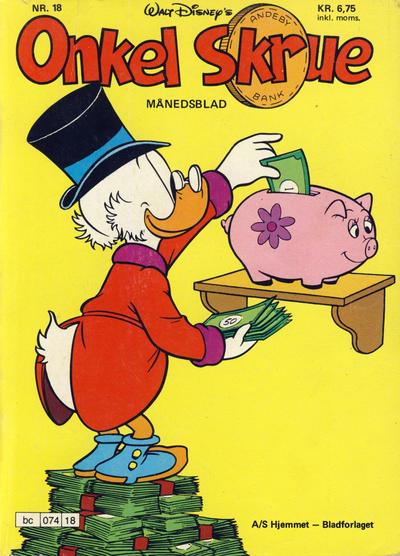 Cover for Onkel Skrue (Hjemmet / Egmont, 1976 series) #18