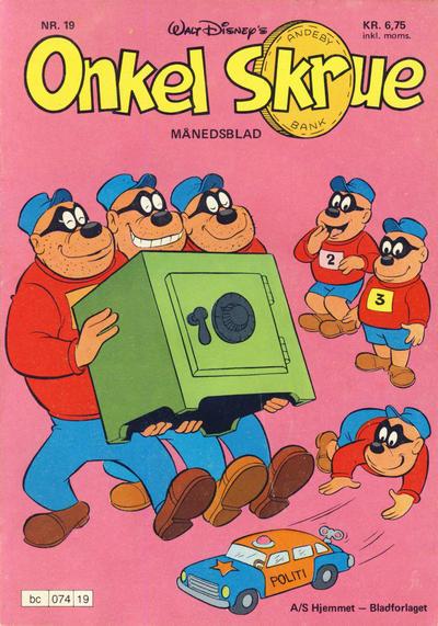 Cover for Onkel Skrue (Hjemmet / Egmont, 1976 series) #19