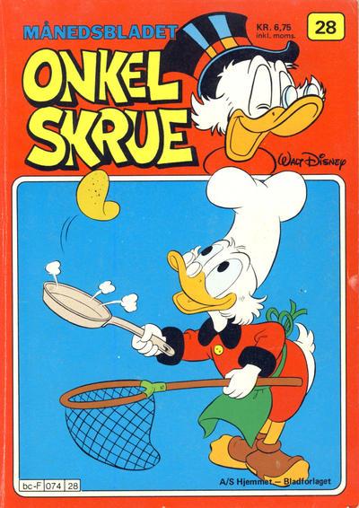 Cover for Onkel Skrue (Hjemmet / Egmont, 1976 series) #28