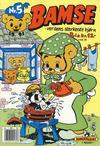 Cover for Bamse (Hjemmet, 1991 series) #5/1991