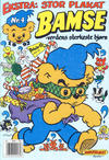 Cover for Bamse (Hjemmet, 1991 series) #4/1992