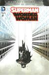 Cover Thumbnail for Superman / Wonder Woman (2013 series) #27 [Batman v Superman Fade Variant]