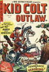Cover for Kid Colt Outlaw (Bell Features, 1950 series) #9