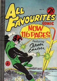 Cover Thumbnail for All Favourites Comic (K. G. Murray, 1960 series) #17
