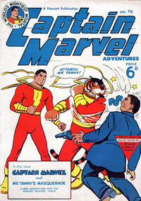 Cover Thumbnail for Captain Marvel Adventures (L. Miller & Son, 1950 series) #78