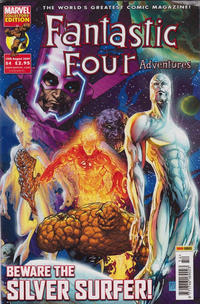 Cover Thumbnail for Fantastic Four Adventures (Panini UK, 2005 series) #54