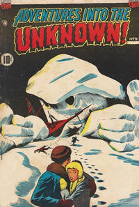Cover Thumbnail for Adventures into the Unknown (Export Publishing, 1950 ? series) #9