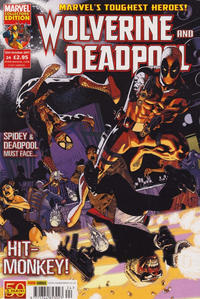 Cover Thumbnail for Wolverine and Deadpool (Panini UK, 2010 series) #24
