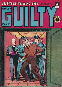 Cover Thumbnail for Justice Traps the Guilty (Thorpe & Porter, 1957 ? series) #32