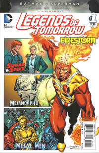 Cover Thumbnail for Legends of Tomorrow (DC, 2016 series) #1
