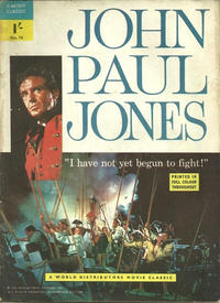 Cover Thumbnail for A Movie Classic (World Distributors, 1956 ? series) #74 - John Paul Jones