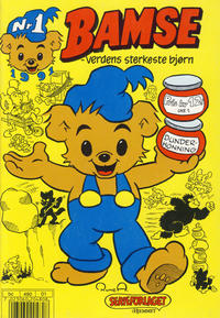 Cover Thumbnail for Bamse (Hjemmet, 1991 series) #1/1991