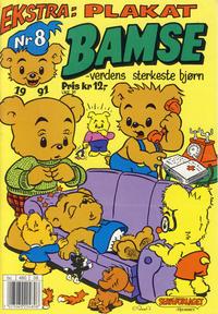 Cover Thumbnail for Bamse (Hjemmet, 1991 series) #8/1991