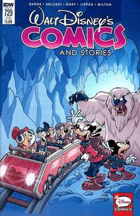 Cover Thumbnail for Walt Disney's Comics and Stories (IDW, 2015 series) #729 [Subscription Variant]