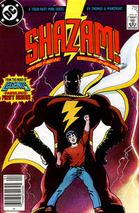 Cover Thumbnail for Shazam: The New Beginning (DC, 1987 series) #1 [Newsstand]