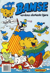 Cover Thumbnail for Bamse (Hjemmet / Egmont, 1991 series) #6/1992