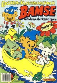 Cover Thumbnail for Bamse (Hjemmet / Egmont, 1991 series) #8/1992