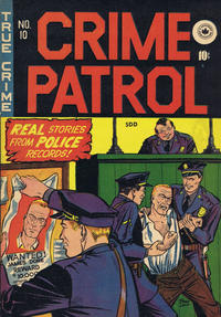 Cover Thumbnail for Crime Patrol (Superior Publishers Limited, 1949 series) #10