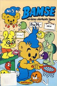 Cover Thumbnail for Bamse (Hjemmet, 1991 series) #3/1993