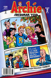 Cover Thumbnail for Archie (Archie, 1959 series) #588 [Newsstand]